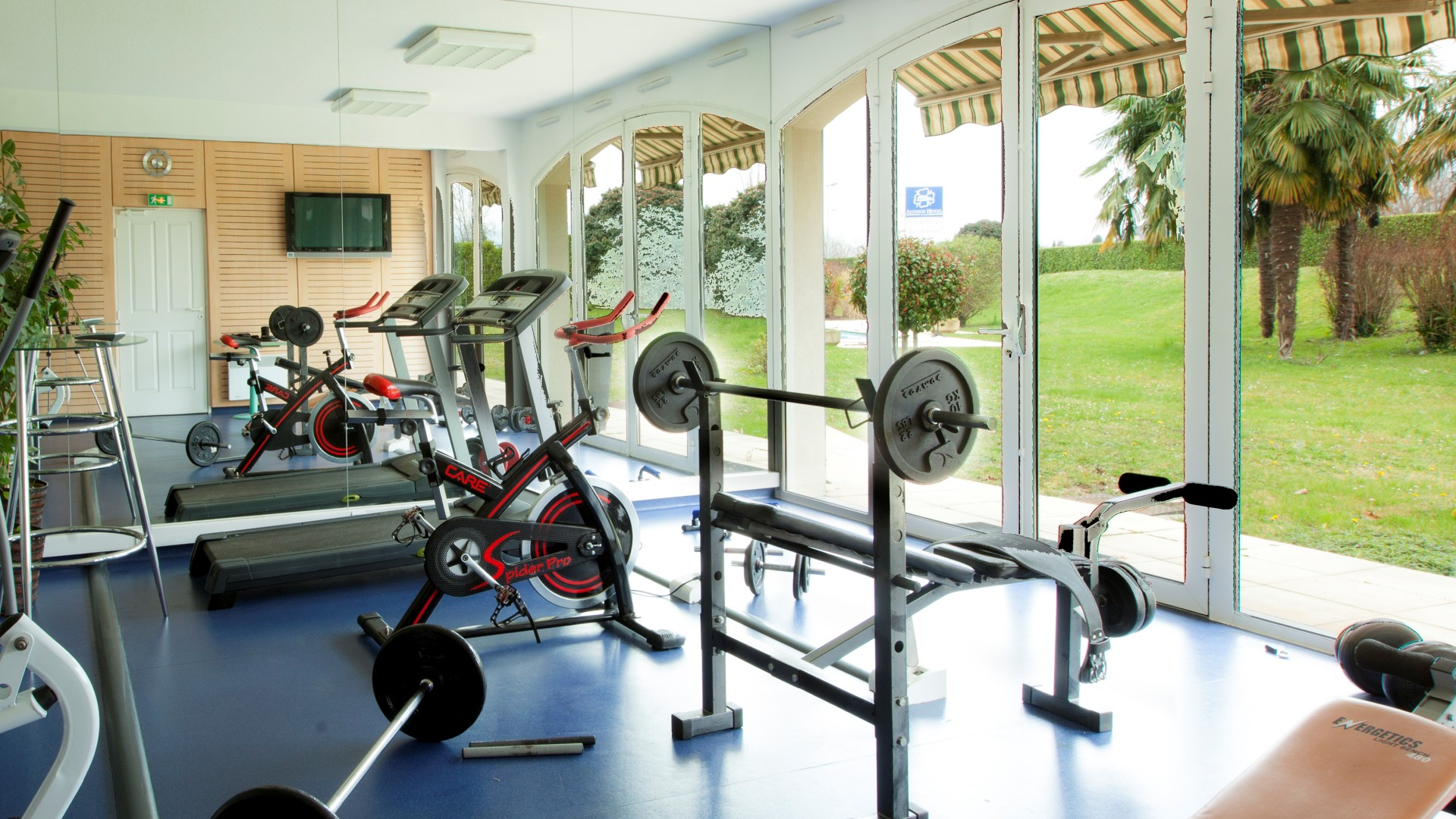 salle fitness hotel oloron